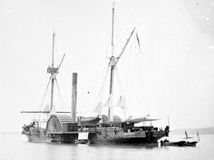 James River, Va. U.S.S. Maratanza, Commander Thomas H. Stevens, immediately after capture of the Teaser, July 4, 1862.