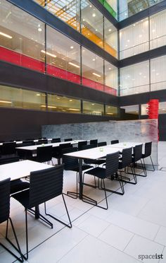 Black canteen chairs / ORDER NOW FROM SPACEIST
