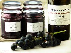 Dżem winogronowy z porto