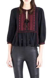 Free People Black Wild Thing Peasant Blouse Size 2 (XS). Free shipping and guaranteed authenticity on Free People Black Wild Thing Peasant Blouse Size 2 (XS)Free People Wild Thing Peasant Top  Size XSmall - ...