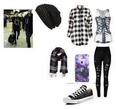 Untitled #126 by analis-briseno on Polyvore featuring Converse, Humble Chic, King & Fifth Supply Co., women's clothing, women's fashion, women, female, woman, misses and juniors