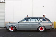 Toyota Corolla Te72 Wagon on JDM classic Advan A3A wheels