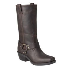 Women's Mossimo Supply Co. Katherine Genuine Leather Engineer Boots - Brown - these are so super fabulous. Even better in person. $60