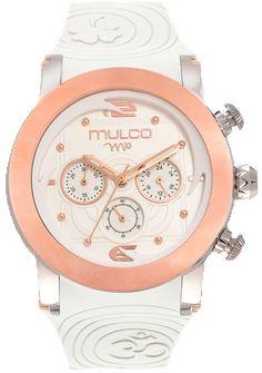 Reloj Mulco Colección M10 Mandala Color Blanco MW5-2873-013
