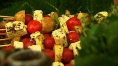 TableCrowd blog: Delicious Barbecue Alternatives - Halloumi Kebabs
