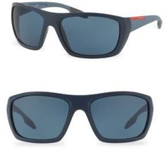 m.GIANNI Collection Dee Rectangle 58mm Sunglasses
