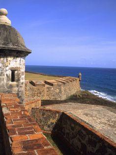 El Morro Fort. Old San Juan, Puerto Rico