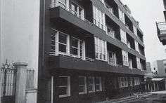 MplePolykatoikia 1932 Facade Architecture, Modernism, Facades, Athens, Architects, Greece, Mystery, Multi Story Building, Interiors