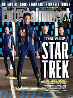 Attention Trekkies! The new Star Trek: Discovery is coming! Subscribe to Entertainment Weekly to learn more. Only $1 per issue. On sale now! ... #StarTrekDiscovery premieres Sept. 24 on CBS All Access and streams weekly starting Sept. 25 on Netflix!