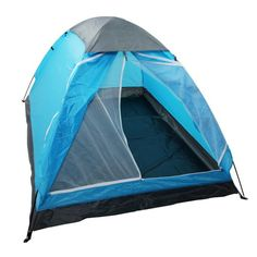 Yodo Upgraded Lightweight 2 Person Camping Backpacking Tent With Carry Bag, Carry Bag, Blue : Sports & Outdoors