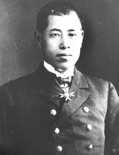 circa 1937: Japanese rear admiral Isoroku Yamamoto (1884 - 1943), commander and architect of the Japanese attack on Pearl Harbour (Pearl Ha...