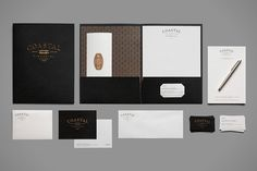 Keepin' it classy. Coastal Financial by Bluerock Design , via Behance