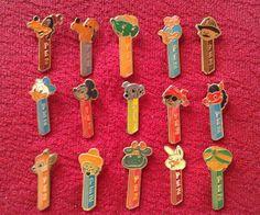 PEZ PINS RARE UNIQUE COMPLETE SET 1970`s 15 VINTAGE PINS DISNEY CHARACTERS http://www.ebay.com/itm/261683234173?ssPageName=STRK:MESELX:IT&_trksid=p3984.m1555.l2649