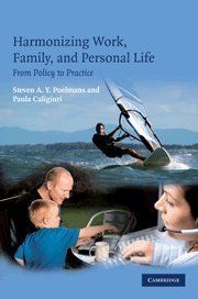 Harmonizing Work, Family, and Personal Life: From Policy to Practice by Paula Caligiuri et al., http://www.amazon.com/dp/0521858690/ref=cm_sw_r_pi_dp_AhGttb0DVPD4V