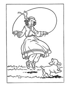 USA Printables Early American Life Coloring Pages Early America