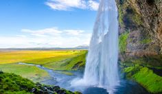 Planning a school trip to Iceland? Here are ten amazing facts about Iceland to teach your class before a WST school trip! Iceland Facts, Amazing Facts, Case Study, Fun Facts, Waterfall, Community, Earth, Teaching, How To Plan