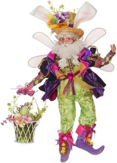 Mark Roberts 21 inch Easter Basket Fairy