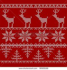 nordic knitting stitch - Google Search