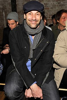 Jon Hamm The Flat Cap - It may be as old as your Grandad's Dad but it's still a hot item and as you can see is regularly worn by the style conscious rich and famous. Get yours from http://www.chapter7hats.com