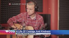 Disney plus will release Clouds in the fall. WCCO's Jennifer Mayerle spoke with Zach's mom about the project and furthering childhood cancer research 4 News at 6 – May 2020 Cloud Movies, Justin Baldoni, Bone Cancer, Message Of Hope, Disney Plus, Childhood Cancer, Custom Dolls, Change The World, Movies
