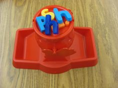 Don't Spill the Letters - a simple variation on the classic Don't Spill the Beans game.  Kids ask to play again and again!