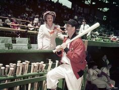 Musial and his wife  1951...so sweet!
