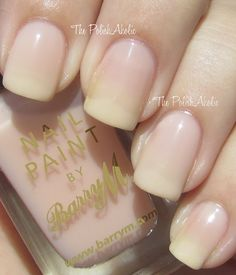 Nude by Barry M  I usually hate sheer colors, but I'm really liking this one!