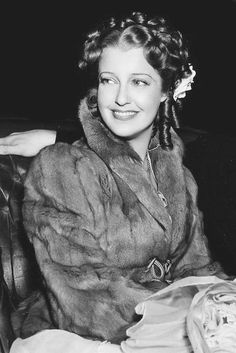 "bettesdavis: "" Jeanette Macdonald on the set of The Girl of the Golden West, 1938 """