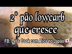 Pão low carb em 5 minutos e cresce muito ! - YouTube