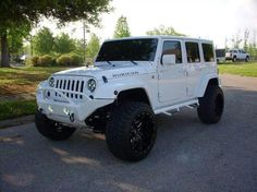 Jeep Wrangler Unlimited Rubicon Sport Utility The white color,the calm mood. Jeep Jk, Jeep Truck, Ford Trucks, 2013 Jeep Wrangler Unlimited, Jeep Wrangler Rubicon, Jeep Wranglers, White Jeep Wrangler Unlimited, White Rubicon Jeep, Srt8 Jeep