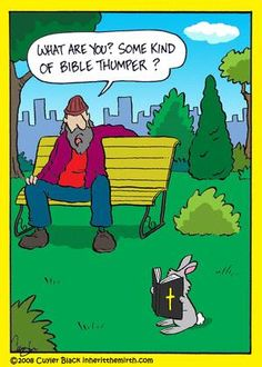 Bible thumper