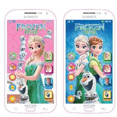 New Snow Queen Toy Phone Talking Phone Multi functional playmobil Learning & Education Baby Mobilephone Electronic Toys For Kids Little Girl Toys, Cool Toys For Girls, Baby Girl Toys, Baby Barbie, Barbie Dolls, Electronic Toys For Kids, Hello Kitty House, Disney Princess Toys, Frozen Toys
