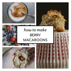 How To Make Gluten and Dairy-free Macaroons at www.onepartplant.com
