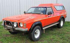 1978 Holden Overlander 4x4 ute