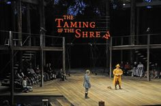 The Taming of the Shrew. Sean Fanning Scenic Designs.