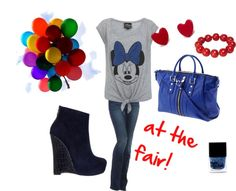 """""""having fun at the fair"""" by titti-caraveo on Polyvore"""