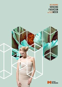 Melbourne Spring Fashion Week Concept & Guidelines by Sarita Walsh, via Behance