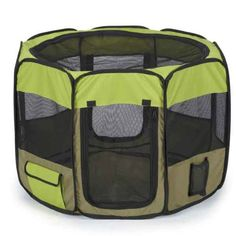 Guardian Gear Insect Shield Fabric Exercise Pen, Medium, Green - http://www.thepuppy.org/guardian-gear-insect-shield-fabric-exercise-pen-medium-green/