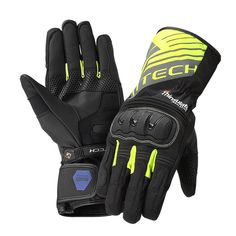 The NORTHCAPE H20 glove is equipped with 100% waterproof and breathable Hypora® membrane and Thinsulate® lining that traps the body heat and allows moisture to escape. Flexible protections on knuckles and palm protect against any impact. Reflection detalis make the rider more visible in the rain.