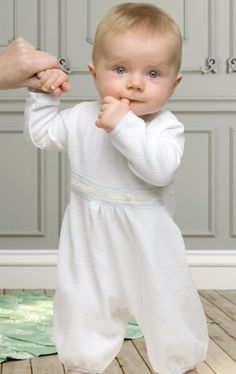 Newborn Boys Christening Jumpsuits from ChristeningGowns.com