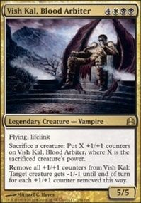 Mtg Card Vish Kal Blood Arbiter Vampire Decks Magic The