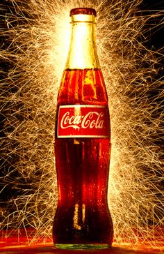 "I have chosen ""Coca Cola"" as My Lovemark brand! This image reflects the brand as a holiday, Independence Day."