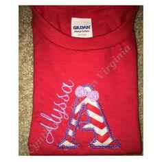 Infant Valentine's Day T-shirt #embroidery #trend #babygirl #girlfashion #valentineday #valentines #infantfashion #kidsfashion  #quality #yesbbb  #trend #kidsclothing #cynthiascraftsinvirginia by cynthiascraftsinvirginia
