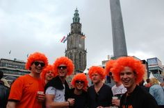 Kijk we hebben allemaal oranje haar