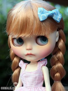 OOAK custom blythe doll Millicent by par indyandtheninja sur Etsy