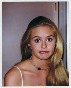 Behind-The-Scenes Polaroids From The Set Of Clueless