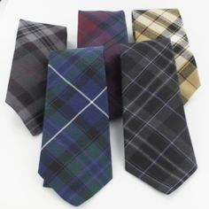 Pride of Scotland Tartan ties, for my sons