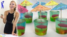 Fishbowl Jello Shots