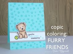 Copic coloring furry friends. #averyelle #furryfriends
