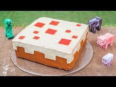Minecraft Kuchen für den Kindergeburtstag. Das Video zeigt, wie man einen Kuchen ganz einfach als Minecraft Kuchen verziert. Das Rezept gibts auf Allrecipes Deutschland http://de.allrecipes.com/rezept/16827/minecraft-geburtstagskuchen.aspx